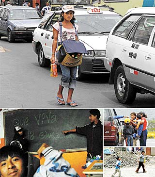 ¿Te quedan ganas de sentirte humano al ver a un niño trabajar en la calle?