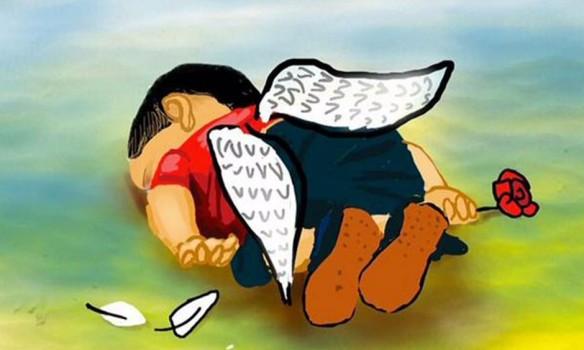 Aylan, un ángel sirio